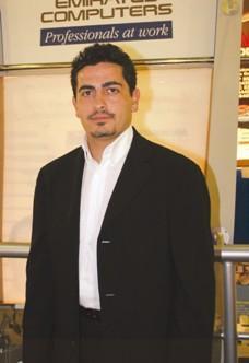 Mr. Khaldoun Al Shaama, Marketing & Business Development Director, Emirates Computers.