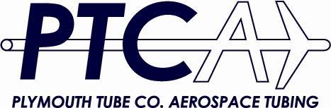 """PLYMOUTH TUBE COMPANY AEROSPACE TUBING AND NASA """"FLY WITH"""
