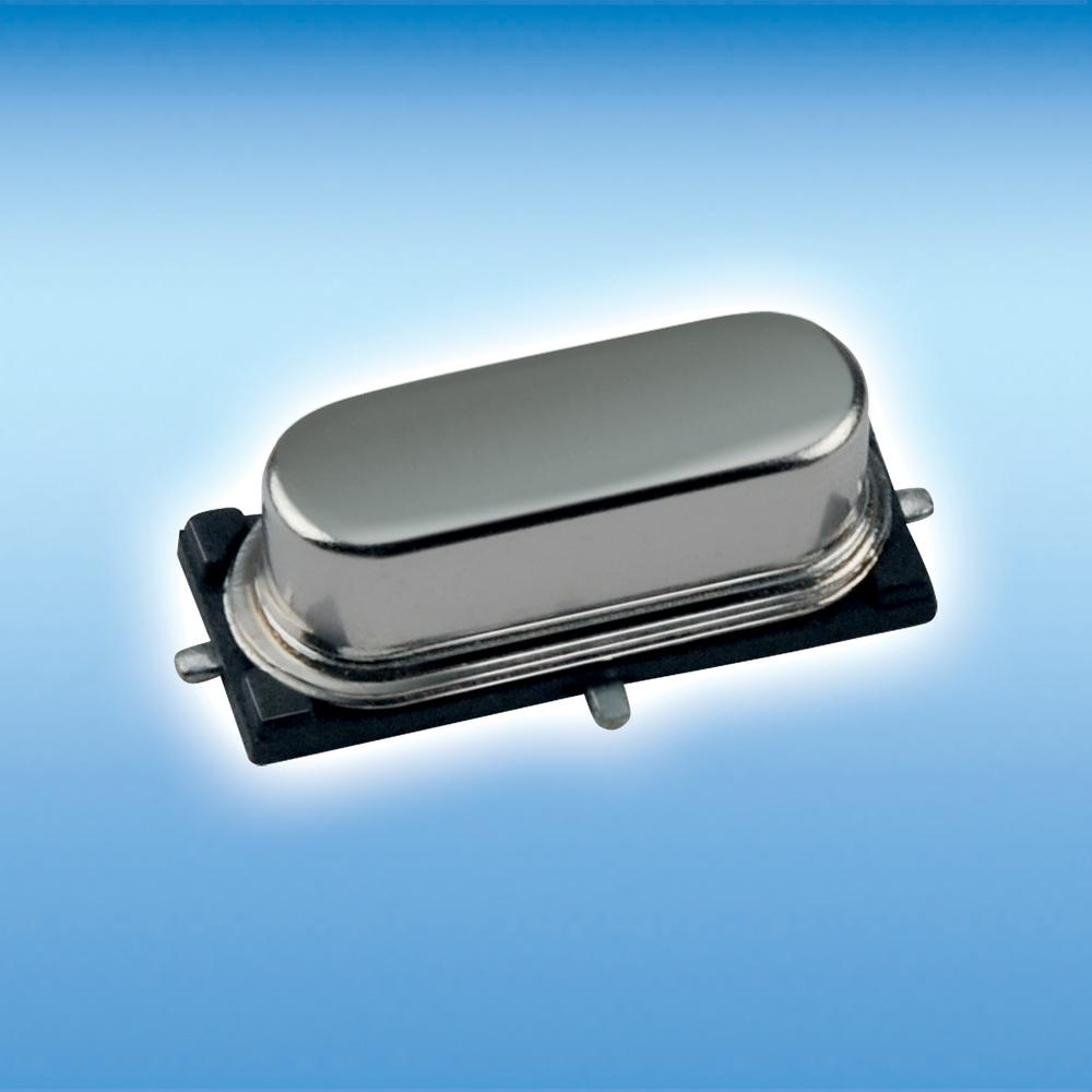 PETERMANN-TECHNIK - SMD crystal in the metal housing - part of the HC-49/US-SMD series