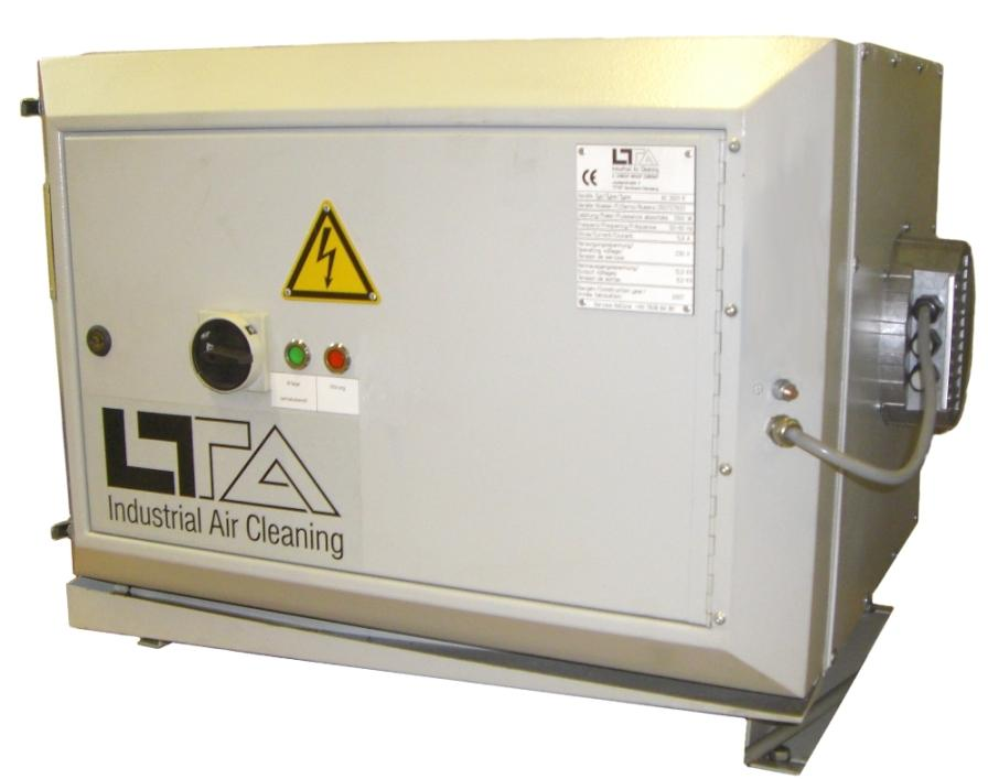 LTA Air Filter type AC 3001 with EC blower