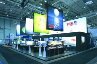 WISKA with new stand design at the SMM
