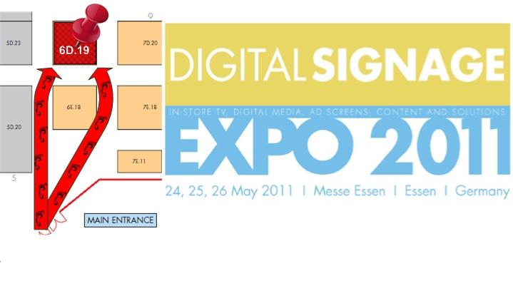 Digital Signage Expo - Stand 6D.19