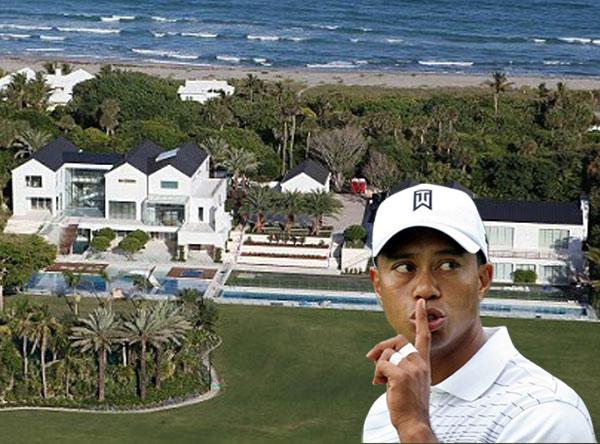 Tiger Woods new US$60 million property with golf course