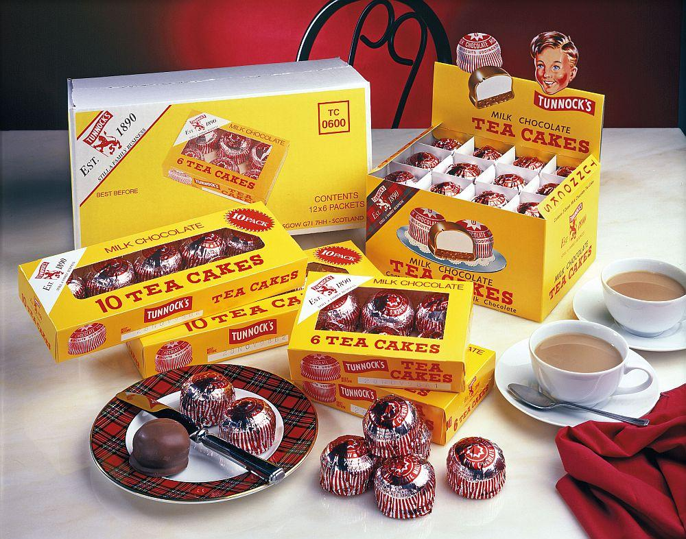 The TLM packaging machine will demonstrate the packing of the entire range of Tunnocks teacakes.