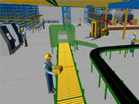 MPDS4 Factory Layout allows process engineers to design 3D factories on the basis of 2D drawings