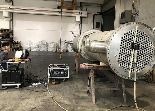 Computed Radiography to Increase Efficiency in Heat Exchanger