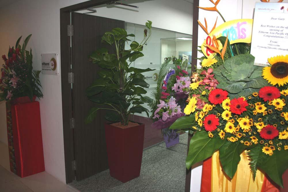 A warm welcome at eltherm Asia Pacific Pte Ltd., Singapore