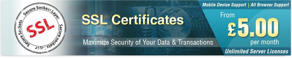 SSL Certificates - eUKhost Ltd.
