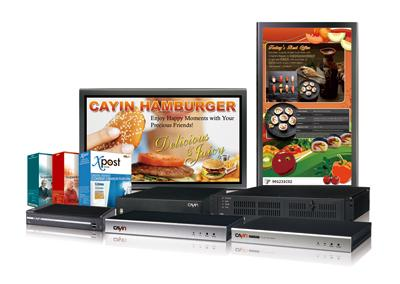 CAYIN Technology will present complete digital signage solutions at DIGITALSIGNAGE EXPO 2010.
