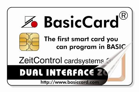 Dual Interface BasicCard
