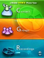 Unique ringtones for contacts or let phone speak their names when