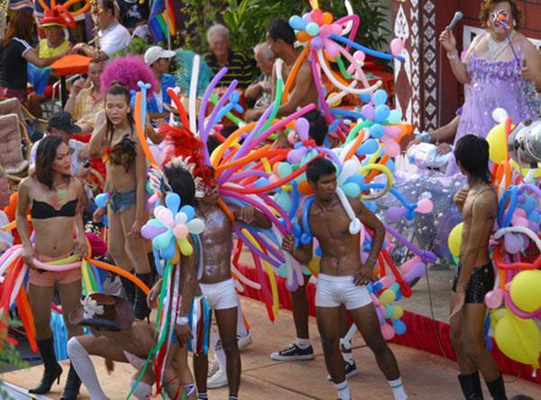 Phuket Gay Pride Festival - Patong Beach, Thailand