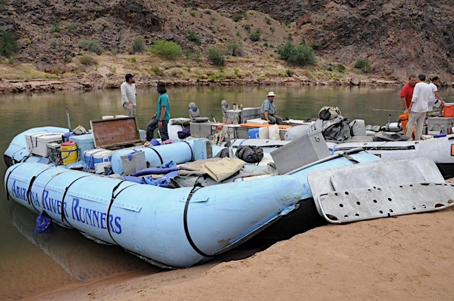 New E-TEC two-stroke technology from Evinrude on Arizona River Runners Grand Canyon Rafting Trips