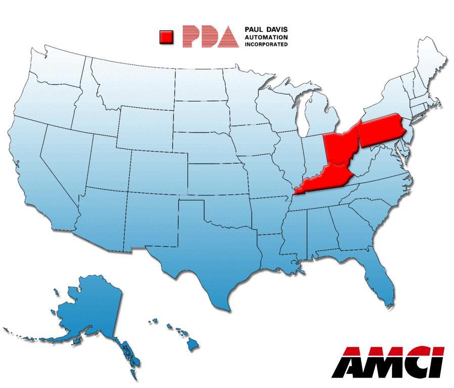 AMCI adds sales rep - Paul Davis Automation (PDA)