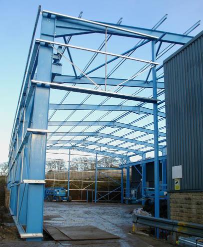 Street Crane Company factory extension