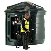 TankDepot.co.uk's new Harlequin 5000FP Fuel Point Bunded Diesel Storage and Dispensing Tank