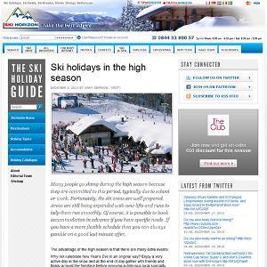 Ski Horizon Home Page