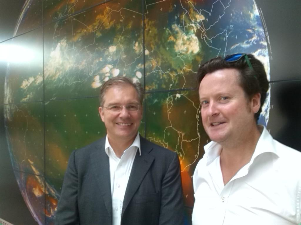 Simon Drake and Kevin Mac Gowan, founders and partners of Lunar Resources Registry UG