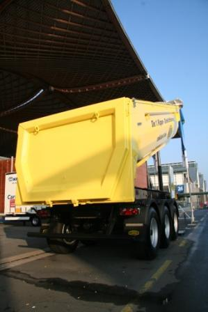 Tipping trailer from F.X. Meiller