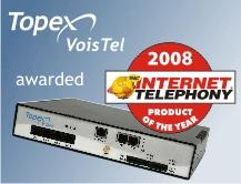 TOPEX Receives INTERNET TELEPHONY® Magazine's 11th Annual
