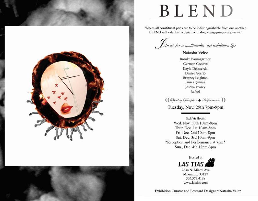 BLEND, A Unique Art Basel Event at Las Tias