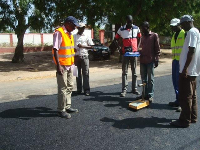 SGS Coordinates Massive Senegal Road Project