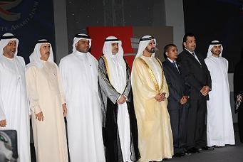 Dr Kanak Madrecha third from right at DQA function held at Grand Hyatt Dubai