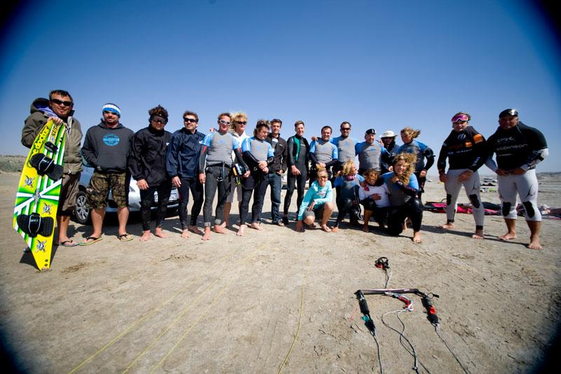 The Record Contenders at Luderitz Second Lagoon beach, credit Koletzky/Sandisk