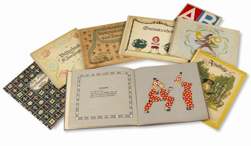 Highlights of the special auction of children books,  which will be called up in the auction of Rare Books in Hamburg.