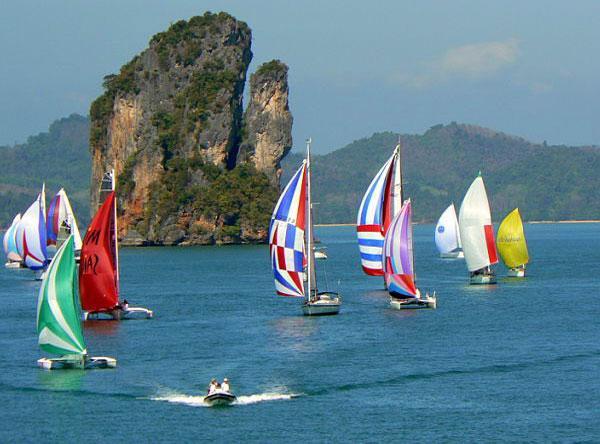 The Bay Regatta kicks off in Phuket, Thailand