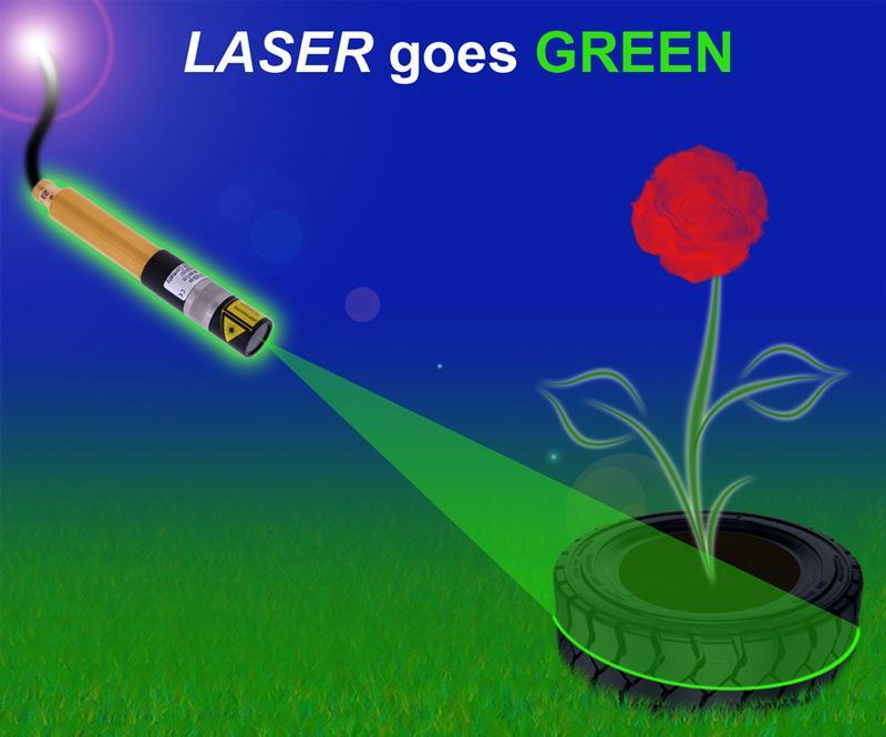 ZM18 laser module - laser goes green