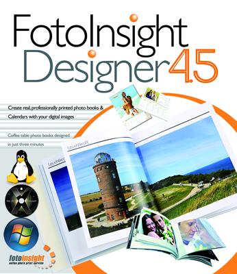 FotoInsight Designer 4.5 Photo Book Software for Windows, Linux and Apple Mac OS