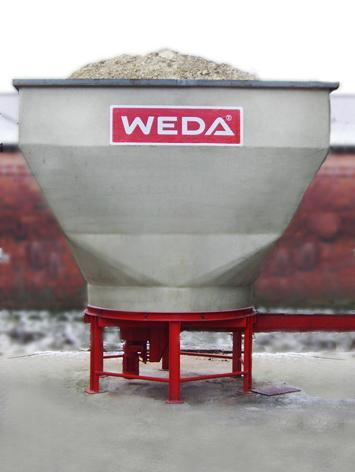 New WEDA 10 cubic metres CCM Dosificator