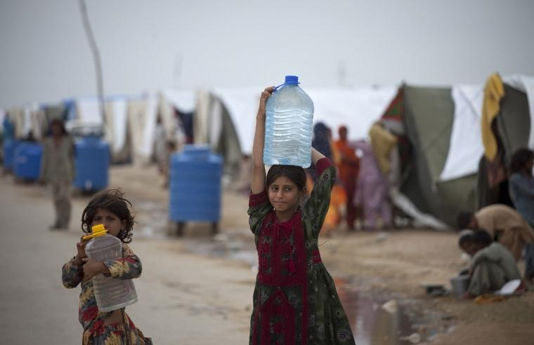 Clean potable water saves lives. Foto: UNICEF