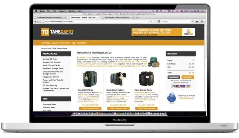 Specialising in Bunded Tanks, TankDepot.co.uk is one of the UK's leading Fuel Tank suppliers