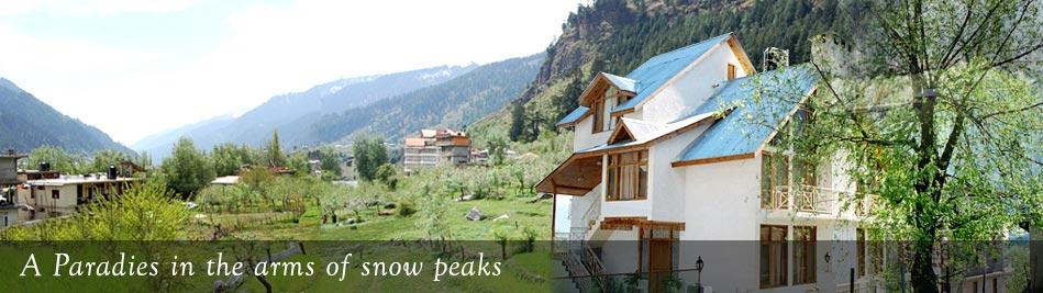 Deluxe Manali Hotel Booking, Honeymoon Packages Manali Cheap,