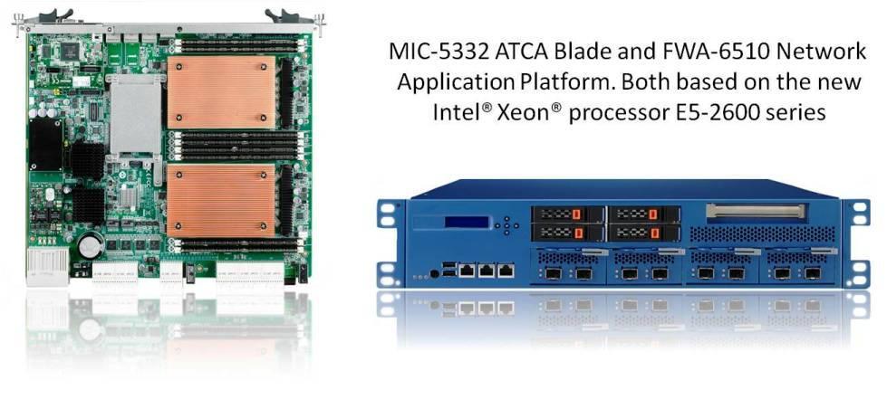 Advantech deploys New Dual Processor ATCA Blades and Network