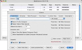 QuickLicense on Mac OS X