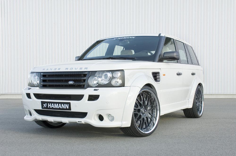 Hamann Range Rover Sport Conqueror front