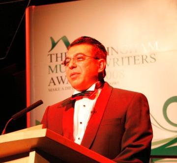 Dr. Max Malik at Muslim Writers Awards