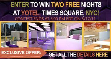 Yotel NYC Hotel - Free Stay