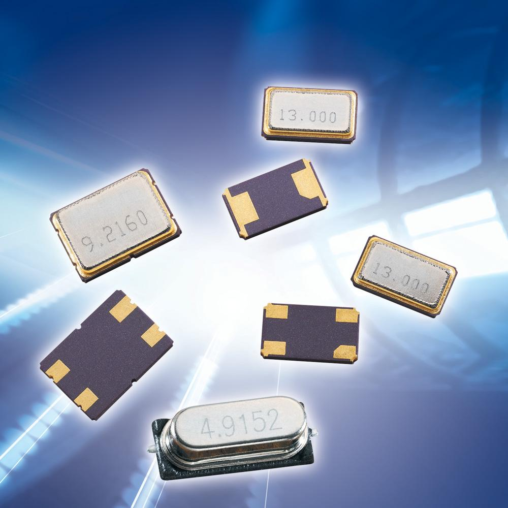 Low-cost, high-performance SMD quartz crystals for TI