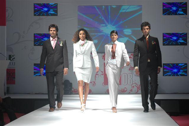 Fashion Show at the India Fashion Forum 2008 in Mumbai