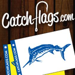 Catchflags.com Grand Launch - Selling Novel Fishing Decals know