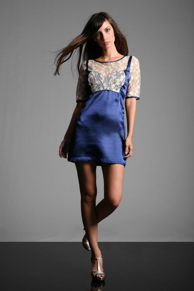 Belted A Line Dress