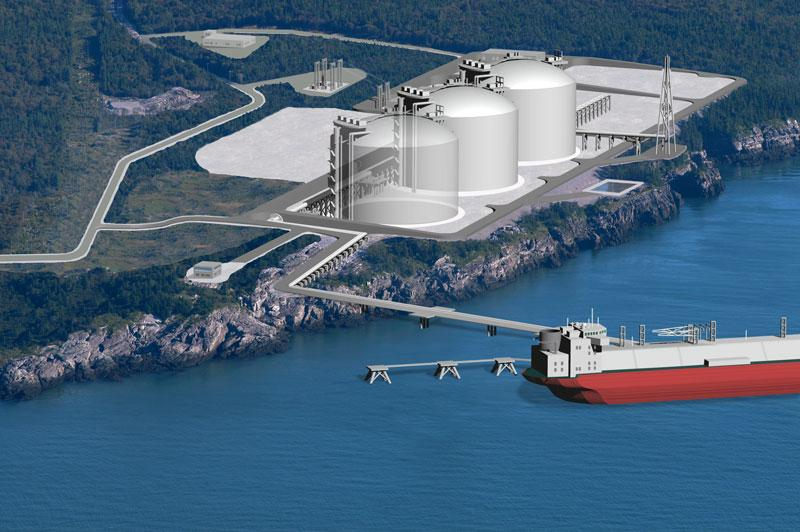 In only four months, the Canaport LNG terminal in Saint John, New Brunswick nears completion after SGS Industrial Services verified the 3 cryogenic Liquefied Natural Gas (LNG) tanks in accordance with Canadian code CSA Z276-01.