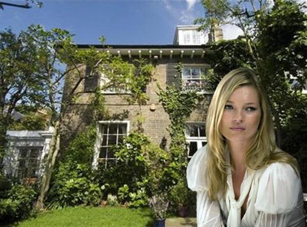 Kate Moss set to lose £1m in UK property crash
