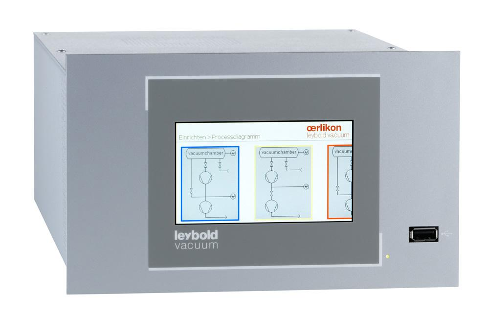 Vacuum controller for monitoring and controlling the entire vacuum process