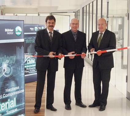 Roland Schwab, Corporate Director Quality Assurance, Rainer Osterloh, Quality Manager Metrology and Peter Muhr, CEO