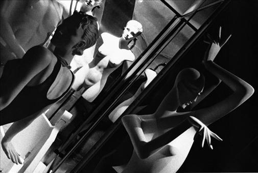 "Manichini, Selenium-toned Black & White Silver Gelatin Print, 14.5"" x 22"""